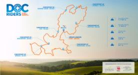 Het parcours van Doc'Riders 2018 is online