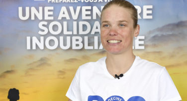 Alexandra Tondeur, ambassadrice Doc'Riders : « NEVER GIVE UP ! »