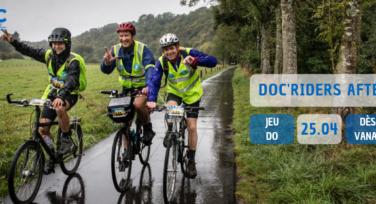 Doc'Riders Afterwork op 25 april