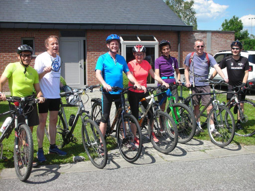 famille Verbeeren participe au Doc'Riders