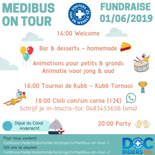 Doc'Riders Medibus on Tour Fundraiser